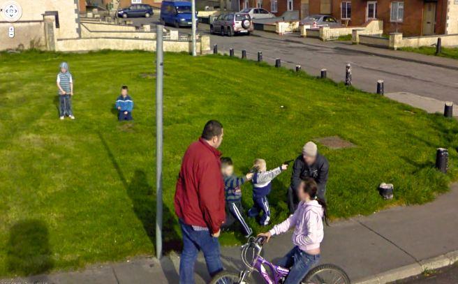 Photos insolites de la route prises par Google Street View