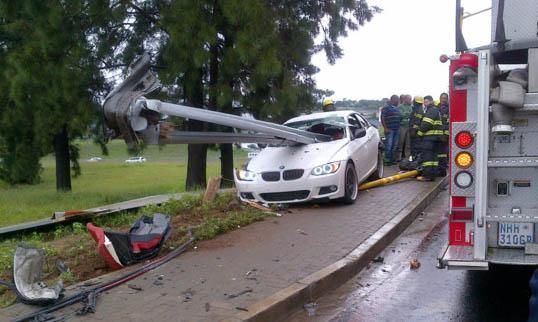 Accident de voiture hors pair: Rooi Mahamutsa a frôlé la mort !