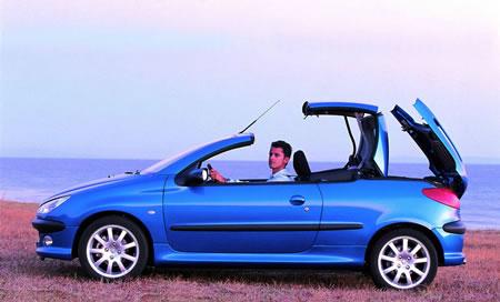 Peugeot 206 CC Avec ou sans capote ?