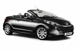 Peugeot 207 CC Série spéciale Roland Garros