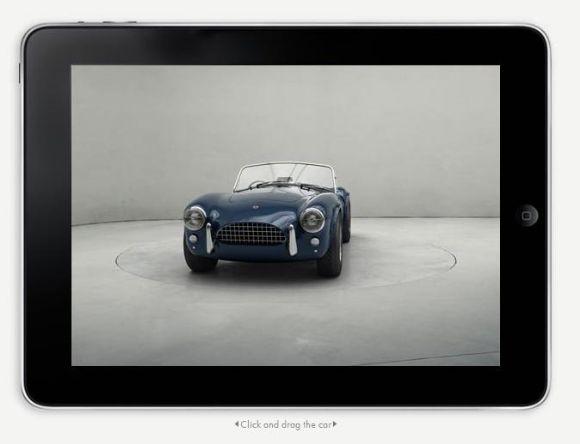 Une application iPad pour les passionnés d'auto (Vidéo)