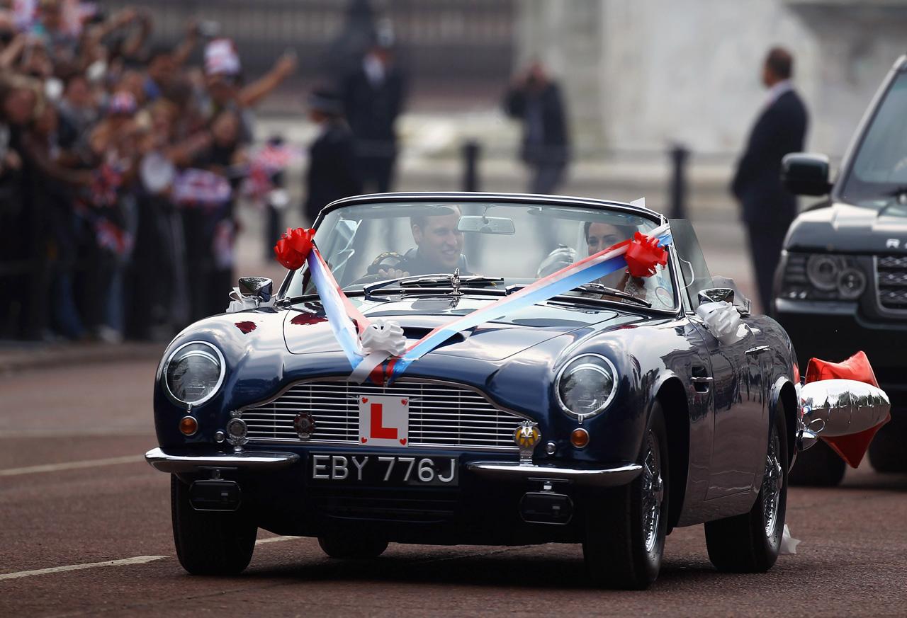 La voiture du mariage de Kate et William en images
