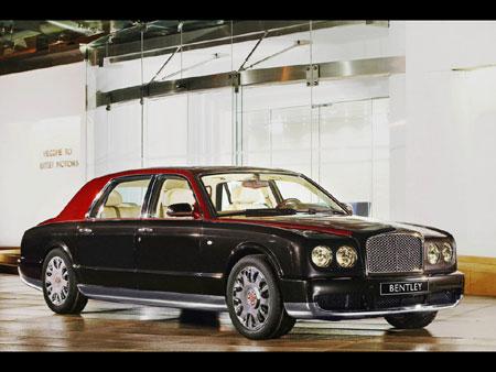 Bentley Arnage limousine La création d'une telle voiture est un grand défi