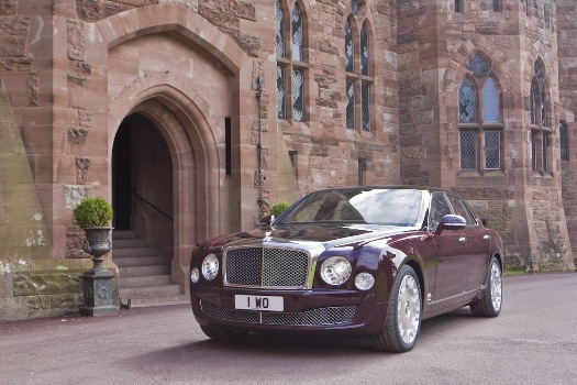 A l'occasion de l'anniversaire des 60 ans de règne de la reine d'Angleterre, Bentley a présenté une ...