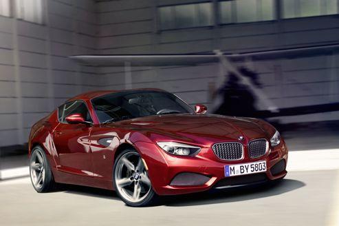 BMW s'aide du constructeur de véhicule Italien Zagato afin de réaliser un véhicule qui sort de l'ord...