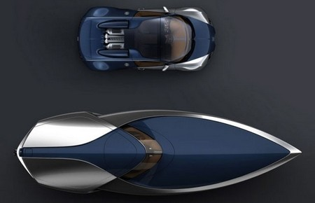 La Bugatti Veyron sert de base pour un yacht