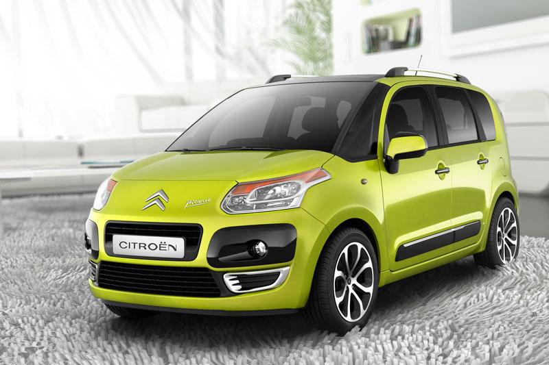 Avec C3 Picasso, Citroën bouscule une nouvelle fois les conventions en présentant un concept innovan...