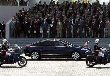 Les voitures des présidents français De Paul Doumer à Jacques Chirac