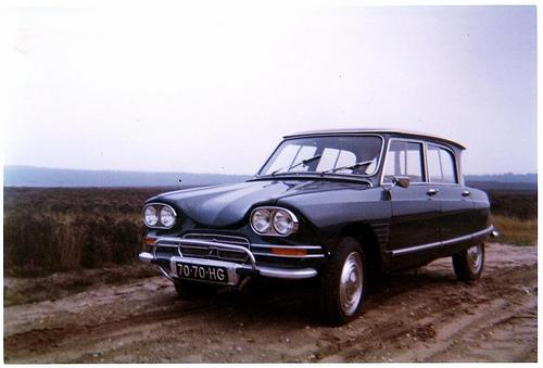 Citroën a lancé il y a 50 ans en avril 1961 l'Ami 6, un modèle intermédiaire entre la 2CV et la DS. ...