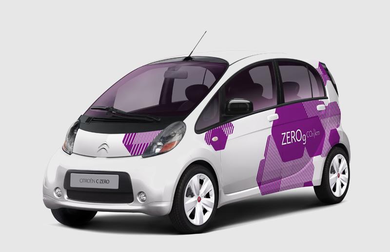 Zéro litre de carburant, zéro émission de CO2, zéro bruit ! Avec C-Zero, Citroën enrichit son offre ...