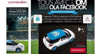 La Citroën DS3 est pour l'OM !