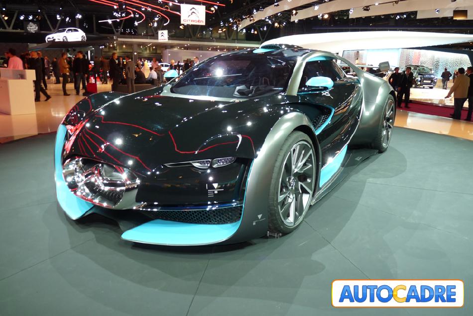 Toutes les nouveautés Citroën au mondial auto de Paris 2010.