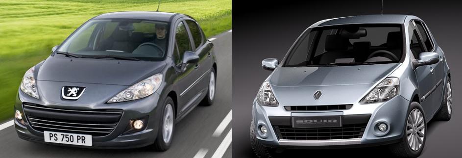 Comparatif Renault Clio, Peugeot 207 Le match