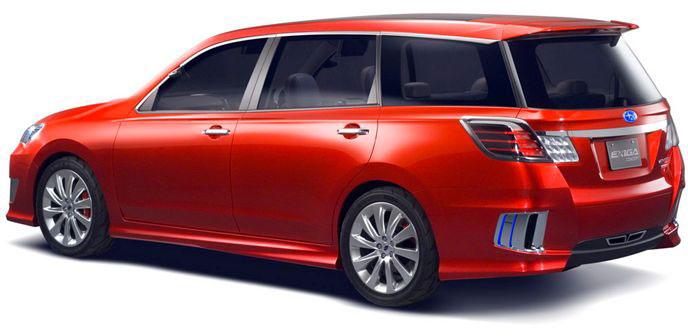 Nouvelles Subaru 40e édition du Salon automobile de Tokyo