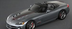 Dodge Viper SRT10 Edition Finale 2010, comme l'indique son nom, il s'agit de de la dernière version ...