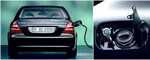 la Classe E passe au gaz naturel La E 200 NGT (Natural Gas Technology) roule déjà en Allemagne