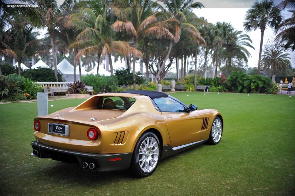 Suite de ce dossier consacré aux concepts présentés à la Villa d'Este, la Ferrari P540 Superfast Ape...