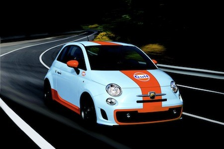 Fiat Albarth 500 Gulf Limited Edition