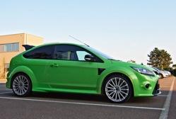 Essai de la Ford Focus 2.5 T RS Les matériaux sont de qualité