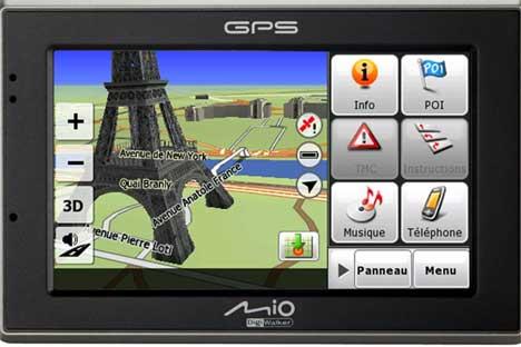 Mio annonce le premier GPS 3D Révolution GPS