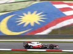 Hamilton, de nouveau Schumacher venait de s'emparer du meilleur temps