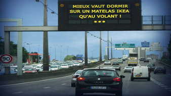 Plus que quelques jours pour profiter de l'hôtel Ikea sur l'autoroute A6.(Vidéo)