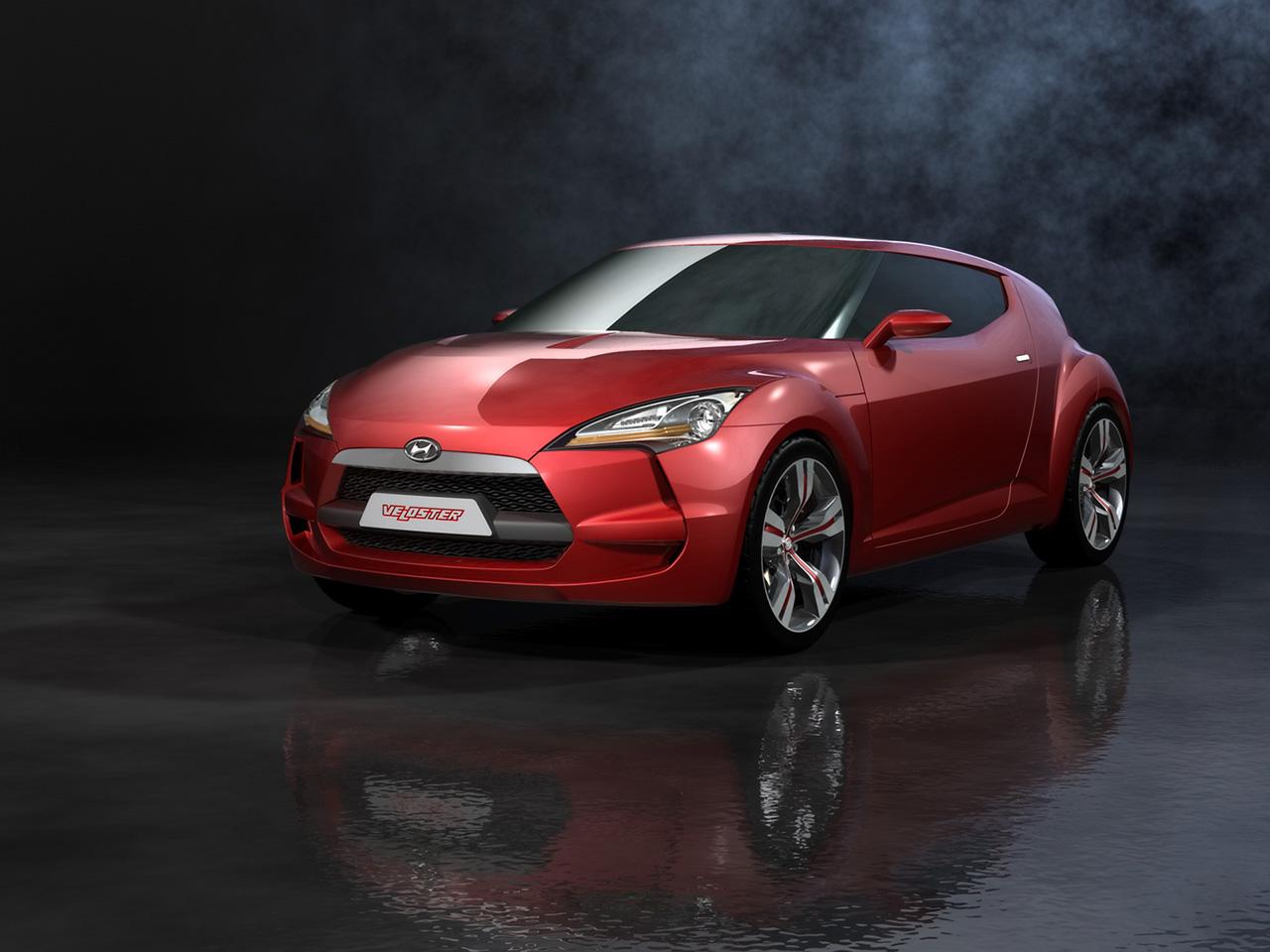 C'est au salon de Détroit que l'on peut avoir un aperçu du nouveau concept car de Hyundai, le Velost...
