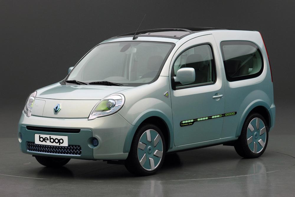 Renault Kangoo Be Bop Z.E. (Vidéo) Véhicule électrique de démonstration