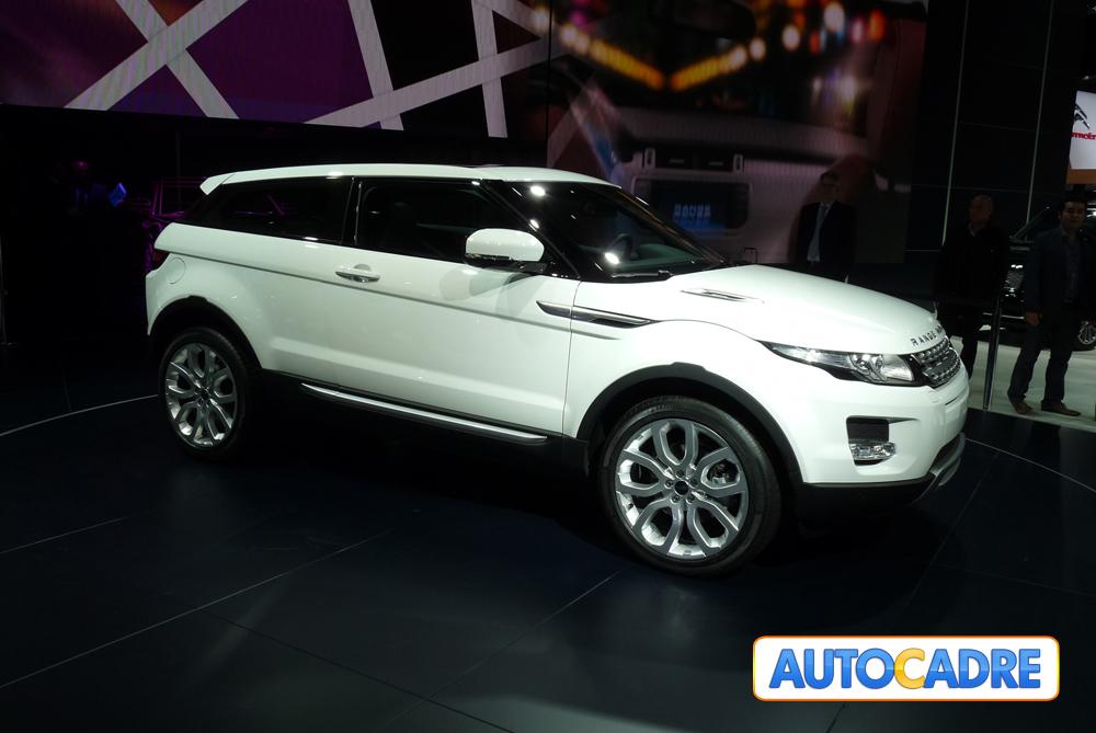 Toutes les nouveautés Land Rover au mondial auto de Paris 2010.