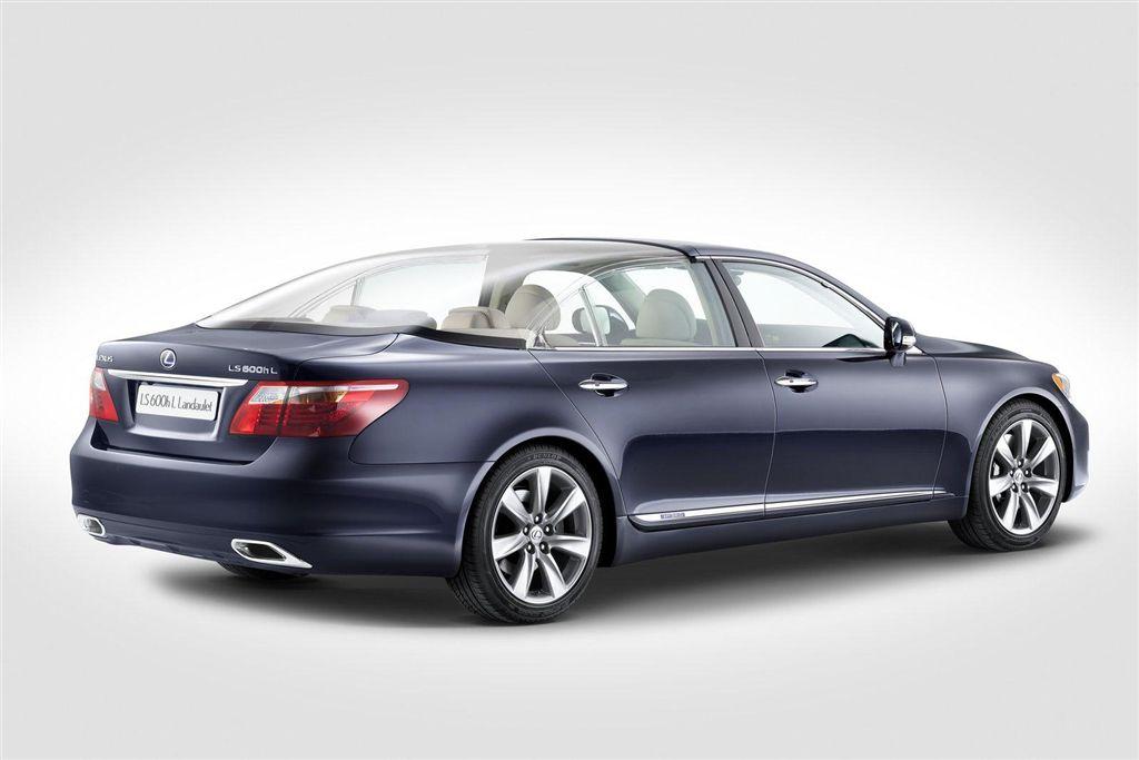 La Lexus LS 600h L Landaulet, invitée de marque au mariage royal du Prince Albert II de Monaco.