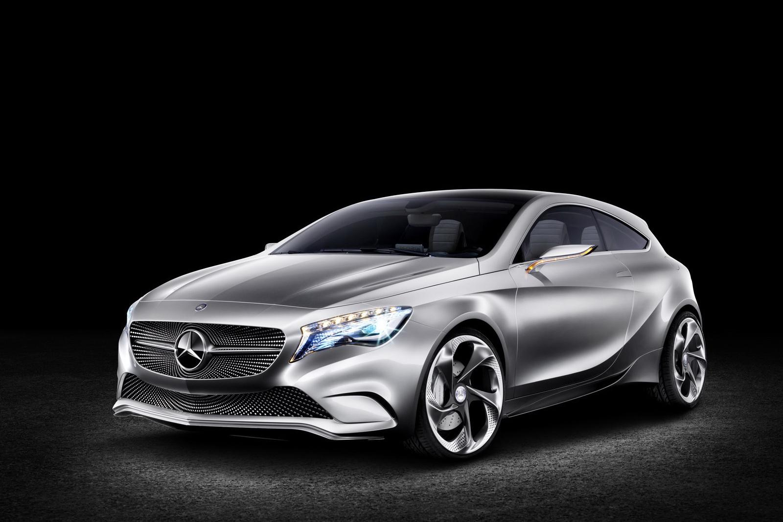 La Mercedes Classe A change de robe (Vidéo)