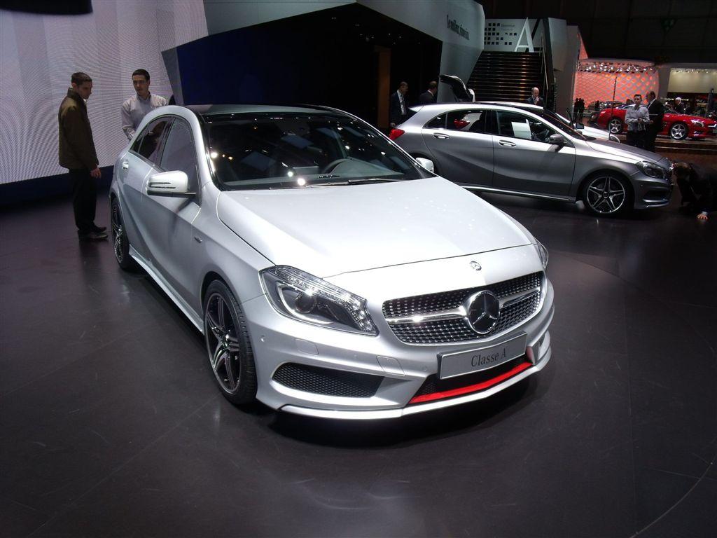 Mercedes classe A 2012 (Vidéo)