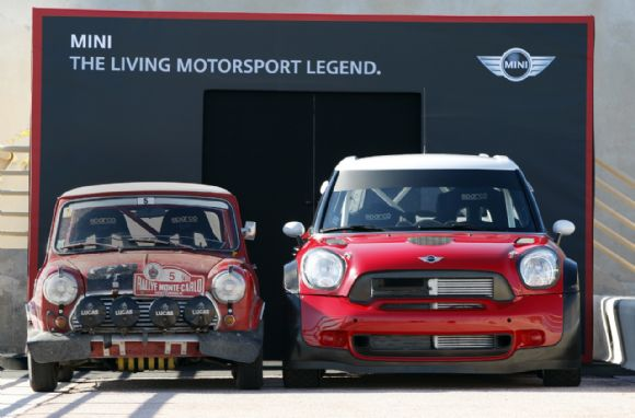 Mini Countryman de WRC à Monte Carlo (Vidéo) Quand l'ancien modèle rencontre le nouveau