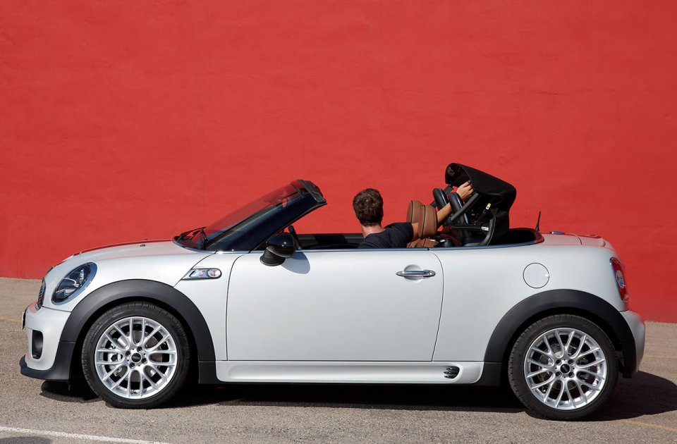 Mini Roadster en version coupé