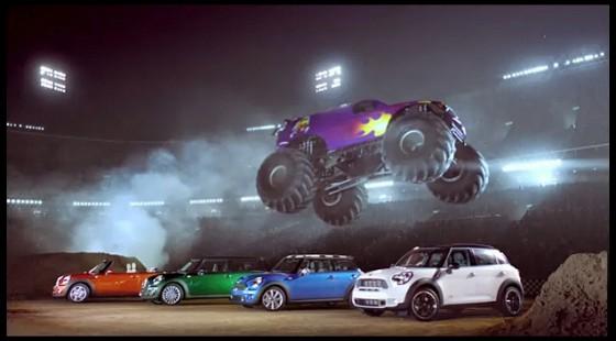 Dans le cadre d'une campagne publicitaire, Mini va lancer un film publicitaire en slow-motion « Mini...