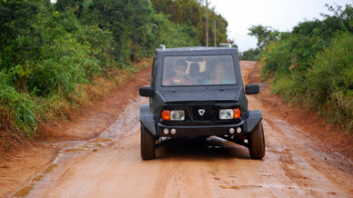 Mobius, un 4x4 à bas coût qui est adapté aux infrastructures africaines.