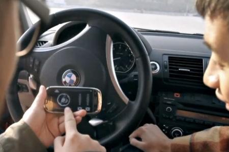 Comment conduire une BMW avec son téléphone? Nokia Asie et deux génies ont travaillé sur ce projet