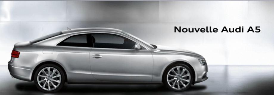 Audi lève le voile sur sa nouvelle gamme Audi A5.