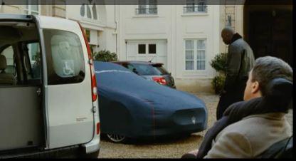 Omar Sy est « Intouchable » à bord de sa Maserati (Vidéo)