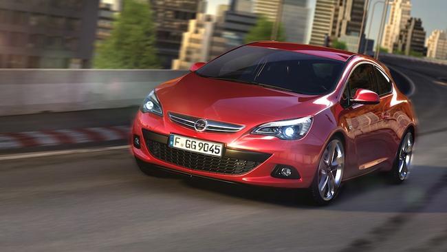 Opel a distribué 2 nouvelles photos de sa future Astra GTC, issue de l'Opel GTC Paris concept qui a ...