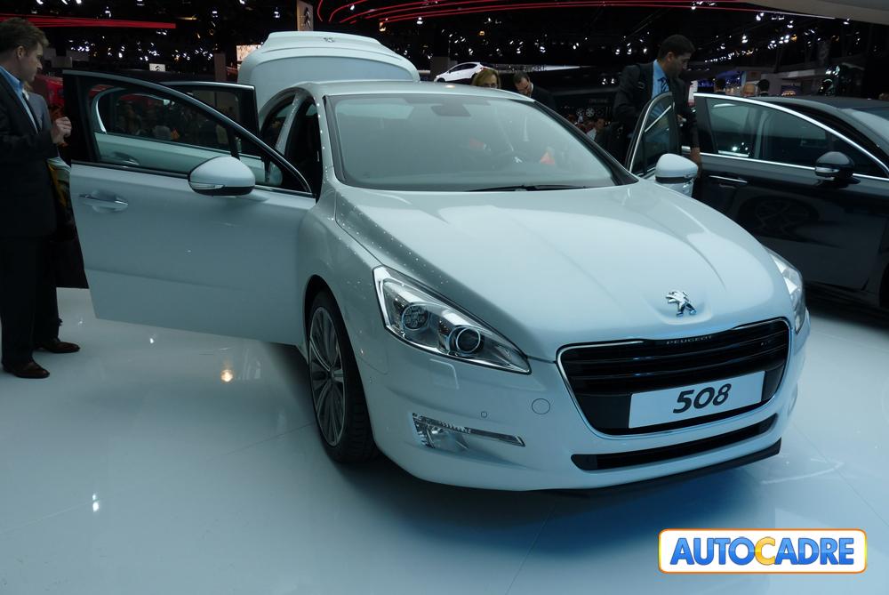 Peugeot 508 en première mondiale Au Mondial auto de Paris 2010