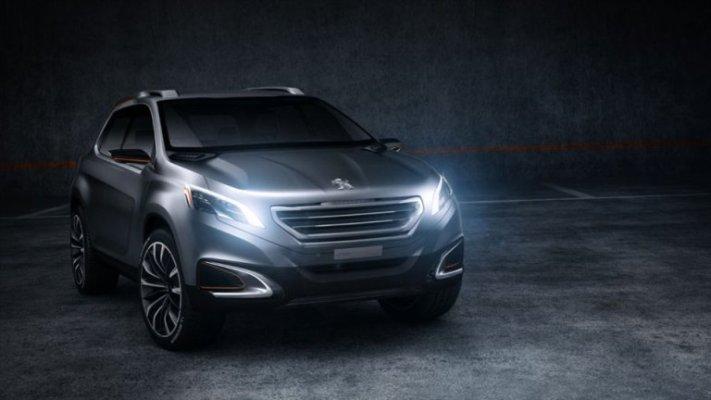 L'Urban Crossover Concept : le nouveau 4x4 urbain de Peugeot (Vidéo)