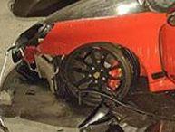 Une Porsche 911 GT3 dévale un terrain en pente !
