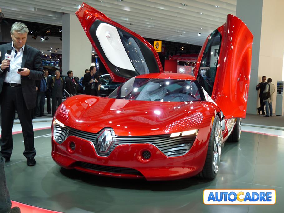 Tombez amoureux de la Dézir de Renault Au Mondial auto de Paris 2010
