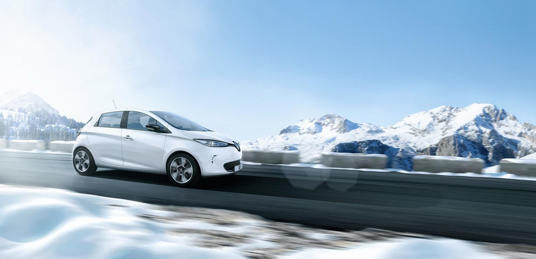 Renault Zoé, la nouvelle égérie de la marque au losange