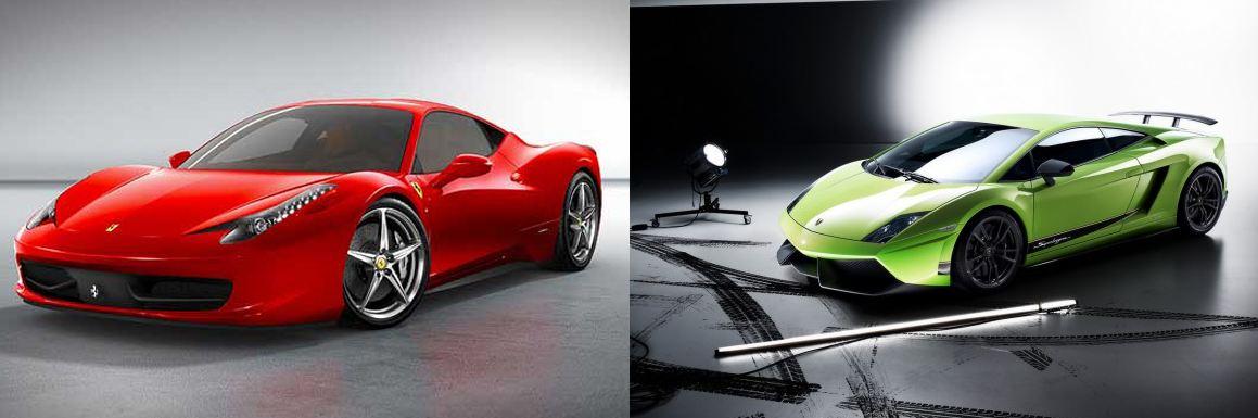 Rivalité Lamborghini Ferrari,  La confrontation!