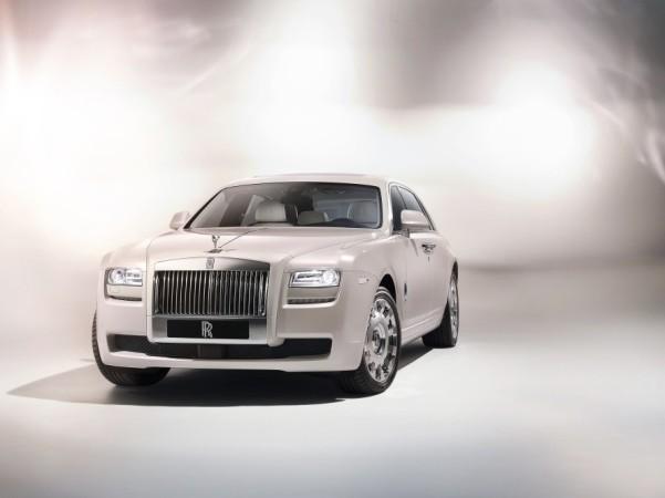 Rolls Royce présente lui aussi un concept luxueux, la Ghost Six Senses