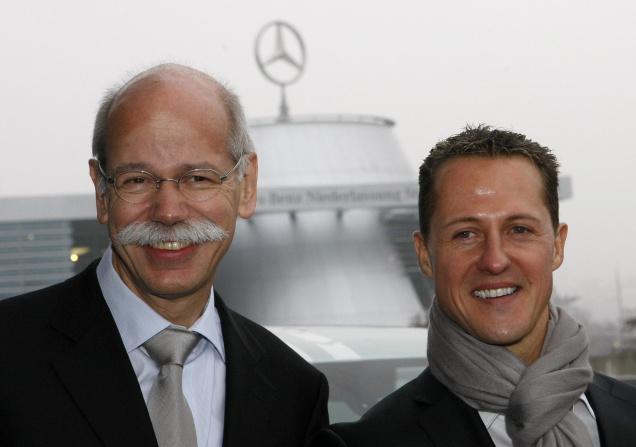 Mercedes soutient Schumacher Schumacher est-il toujours aussi bon ?