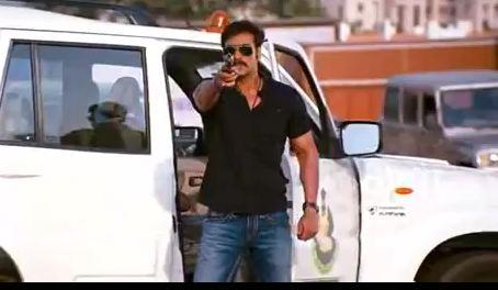 Le blockbuster nommé Singham, relate les aventures d'un super flic indien, Bajirao Singham.