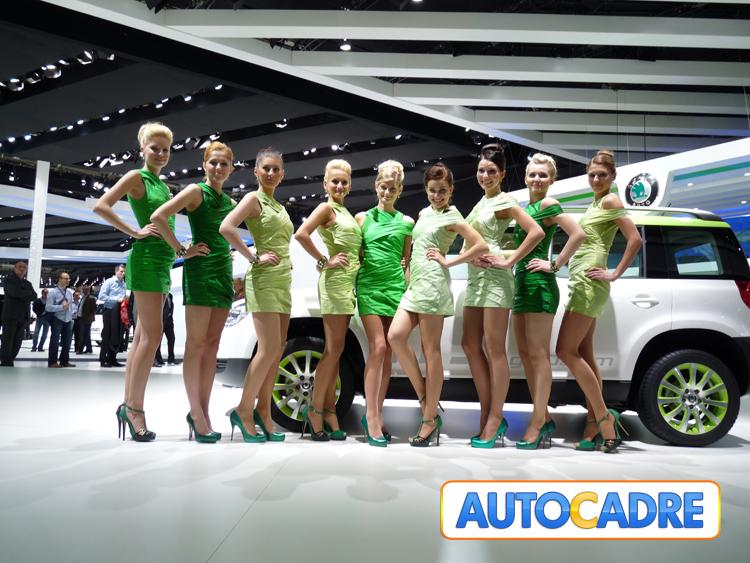 Toutes les nouveautés Skoda au mondial auto de Paris 2010.
